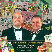 CD cover SONGS IN THE KEY OF OZ